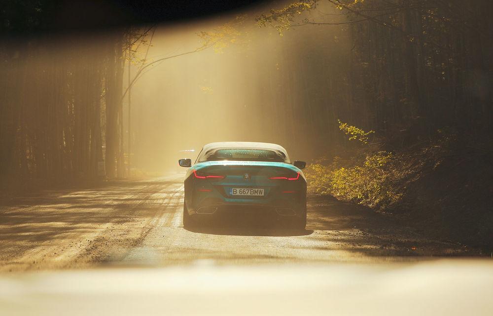 """PORTRET: BMW Seria 8 Cabriolet după 2000 de kilometri: """"Din punct de vedere tehnic, BMW M850i xDrive este o creație impresionantă"""" - Poza 31"""