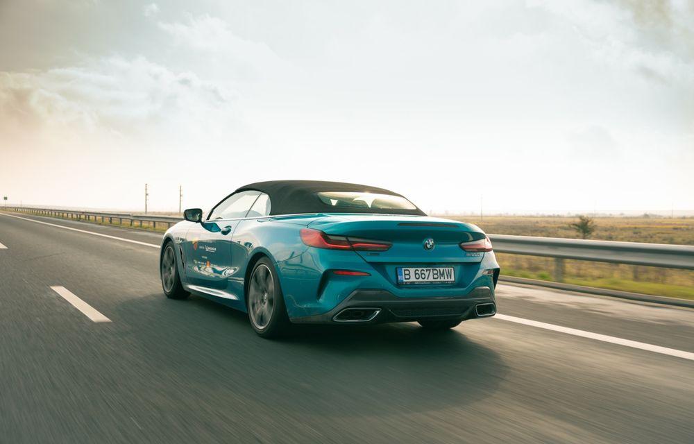 """PORTRET: BMW Seria 8 Cabriolet după 2000 de kilometri: """"Din punct de vedere tehnic, BMW M850i xDrive este o creație impresionantă"""" - Poza 11"""