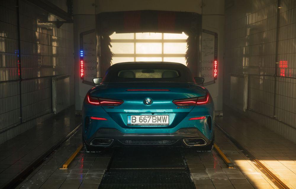 """PORTRET: BMW Seria 8 Cabriolet după 2000 de kilometri: """"Din punct de vedere tehnic, BMW M850i xDrive este o creație impresionantă"""" - Poza 29"""