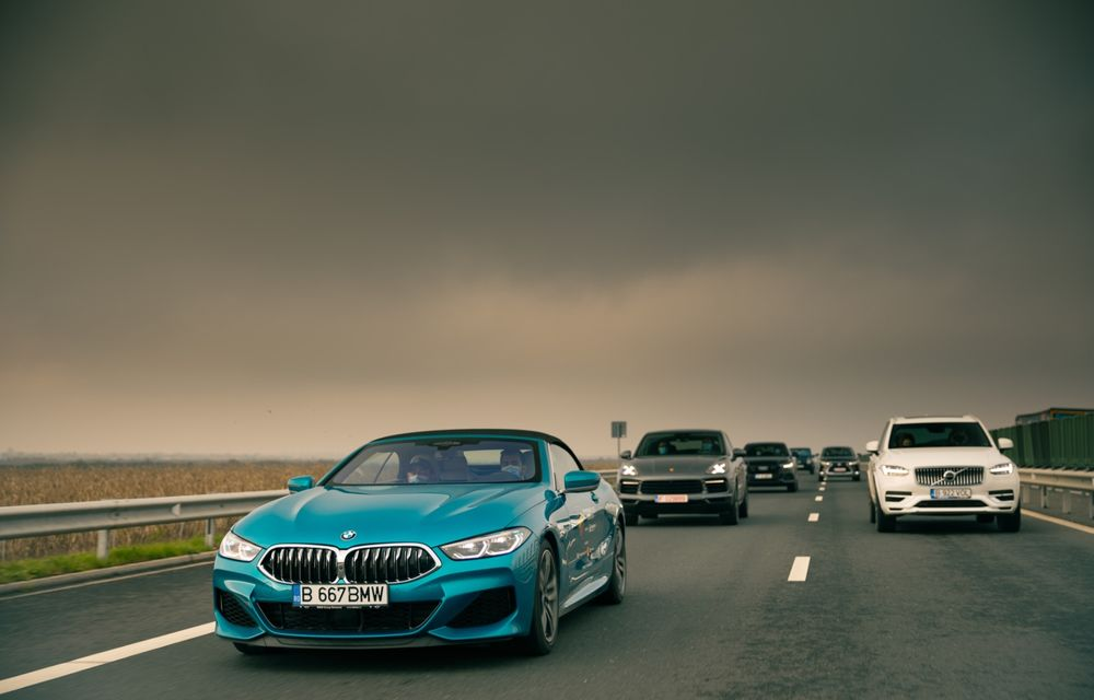 """PORTRET: BMW Seria 8 Cabriolet după 2000 de kilometri: """"Din punct de vedere tehnic, BMW M850i xDrive este o creație impresionantă"""" - Poza 13"""
