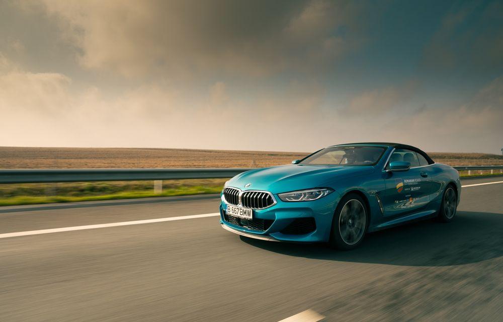 """PORTRET: BMW Seria 8 Cabriolet după 2000 de kilometri: """"Din punct de vedere tehnic, BMW M850i xDrive este o creație impresionantă"""" - Poza 12"""