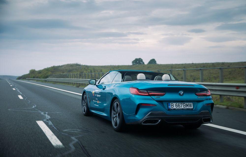 """PORTRET: BMW Seria 8 Cabriolet după 2000 de kilometri: """"Din punct de vedere tehnic, BMW M850i xDrive este o creație impresionantă"""" - Poza 14"""