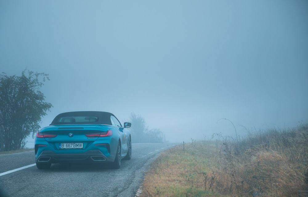 """PORTRET: BMW Seria 8 Cabriolet după 2000 de kilometri: """"Din punct de vedere tehnic, BMW M850i xDrive este o creație impresionantă"""" - Poza 7"""