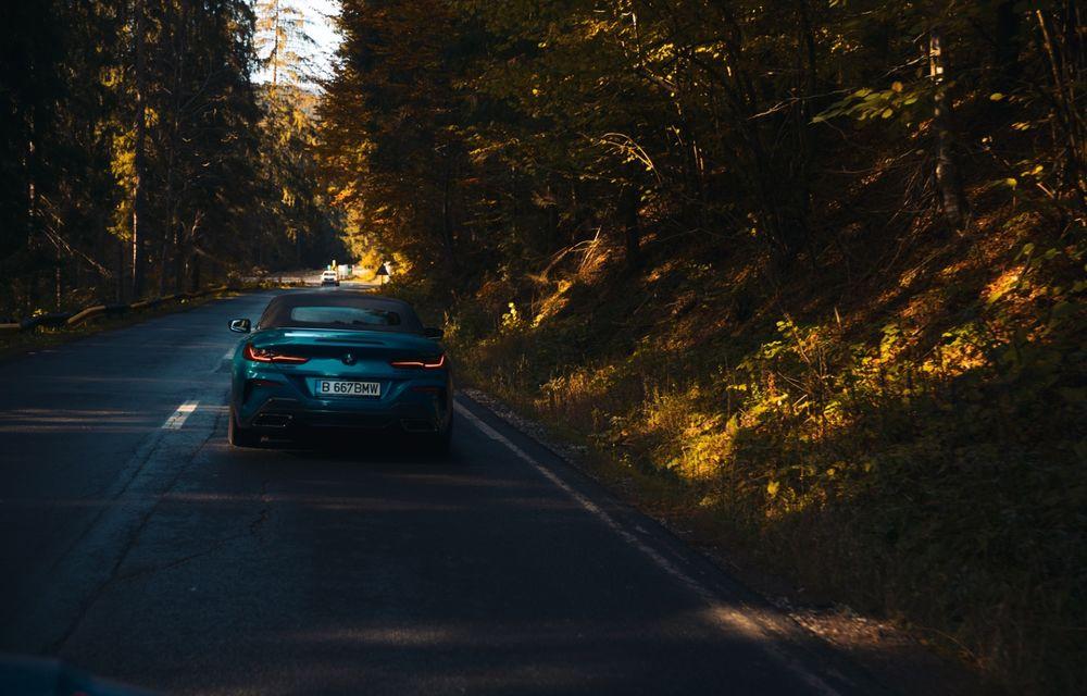 """PORTRET: BMW Seria 8 Cabriolet după 2000 de kilometri: """"Din punct de vedere tehnic, BMW M850i xDrive este o creație impresionantă"""" - Poza 26"""