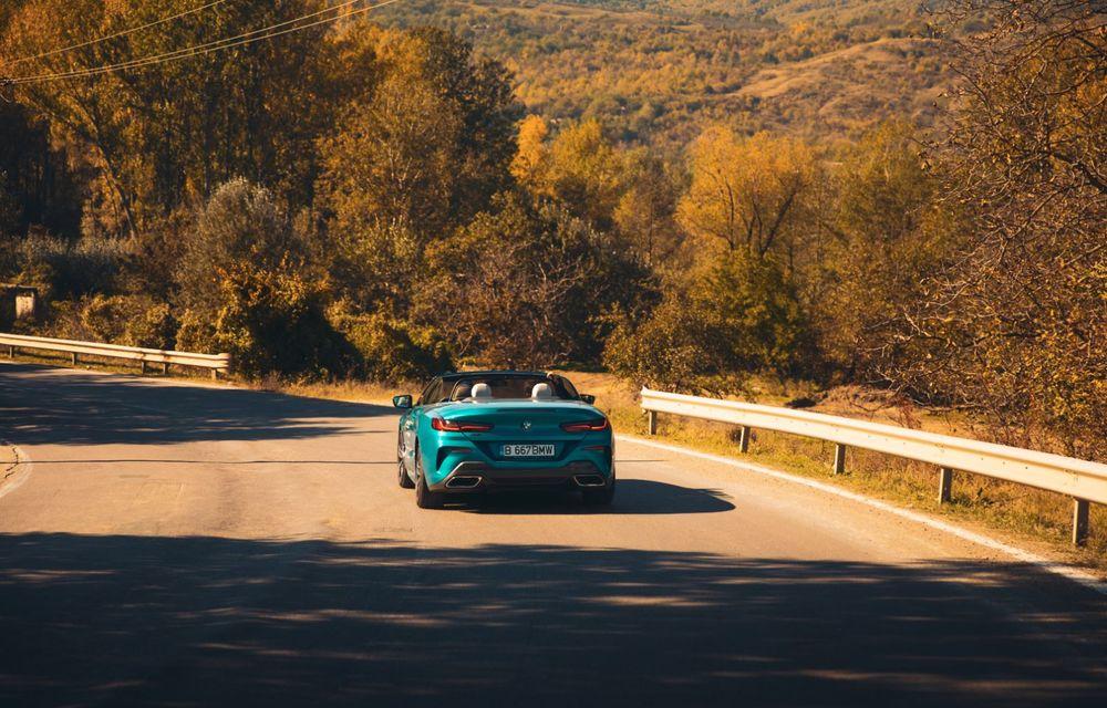 """PORTRET: BMW Seria 8 Cabriolet după 2000 de kilometri: """"Din punct de vedere tehnic, BMW M850i xDrive este o creație impresionantă"""" - Poza 34"""