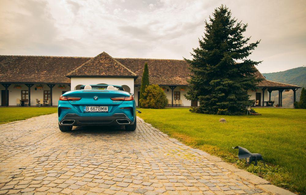 """PORTRET: BMW Seria 8 Cabriolet după 2000 de kilometri: """"Din punct de vedere tehnic, BMW M850i xDrive este o creație impresionantă"""" - Poza 21"""