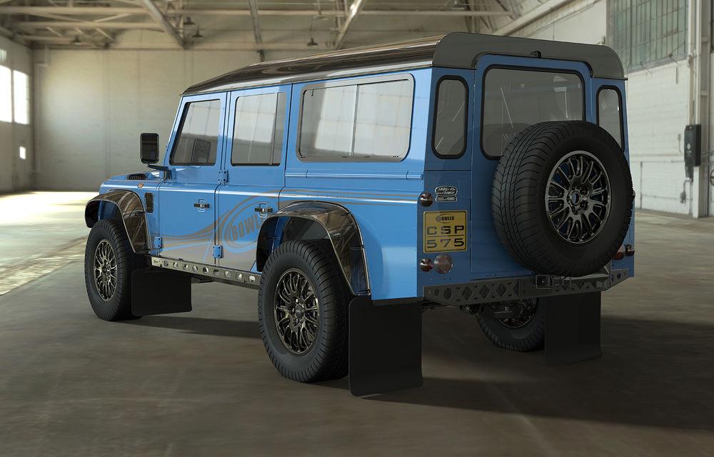 Revine vechiul Land Rover Defender: Bowler pregătește o versiune de performanță cu motor V8 - Poza 1