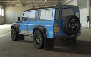 Revine vechiul Land Rover Defender: Bowler pregătește o versiune de performanță cu motor V8