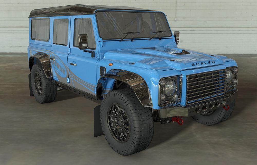 Revine vechiul Land Rover Defender: Bowler pregătește o versiune de performanță cu motor V8 - Poza 2