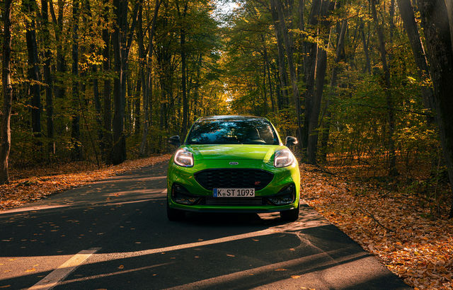 Test drive Ford Puma ST