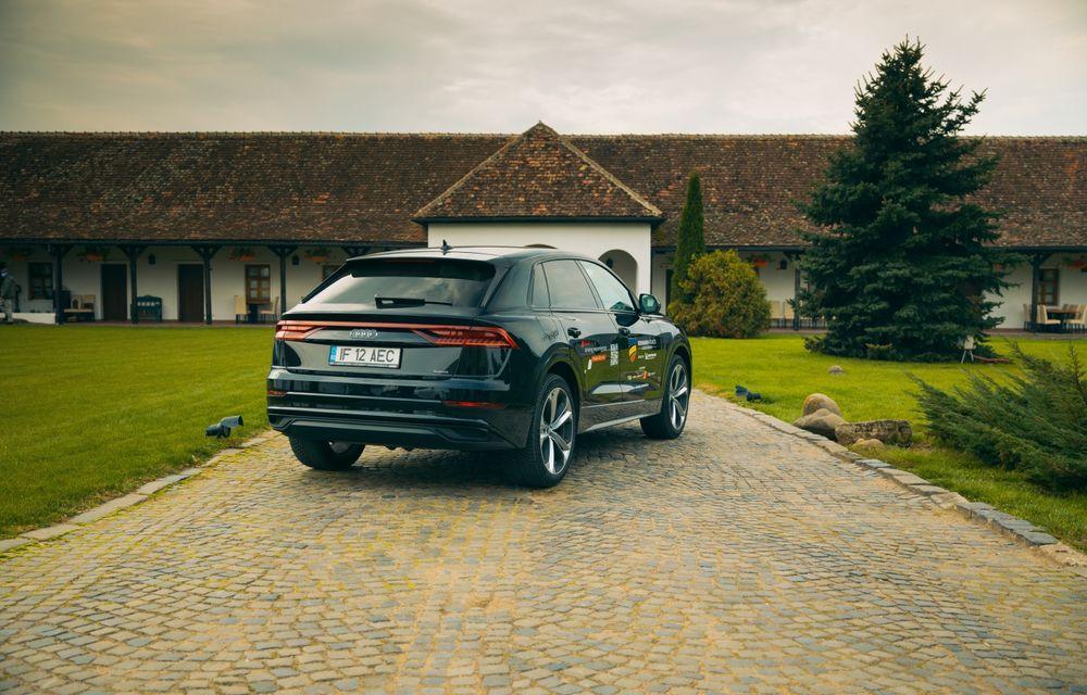 """PORTRET: Audi Q8 55 TFSI după 2000 de kilometri: """"Totul e corect, la dungă, fără excese, fără explozii, fără imprevizibil"""" - Poza 28"""