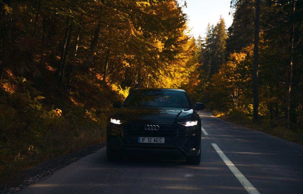 """PORTRET: Audi Q8 55 TFSI după 2000 de kilometri: """"Totul e corect, la dungă, fără excese, fără explozii, fără imprevizibil"""" - Poza 33"""