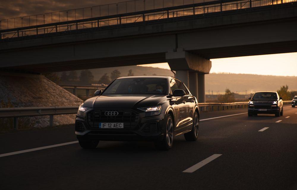 """PORTRET: Audi Q8 55 TFSI după 2000 de kilometri: """"Totul e corect, la dungă, fără excese, fără explozii, fără imprevizibil"""" - Poza 18"""