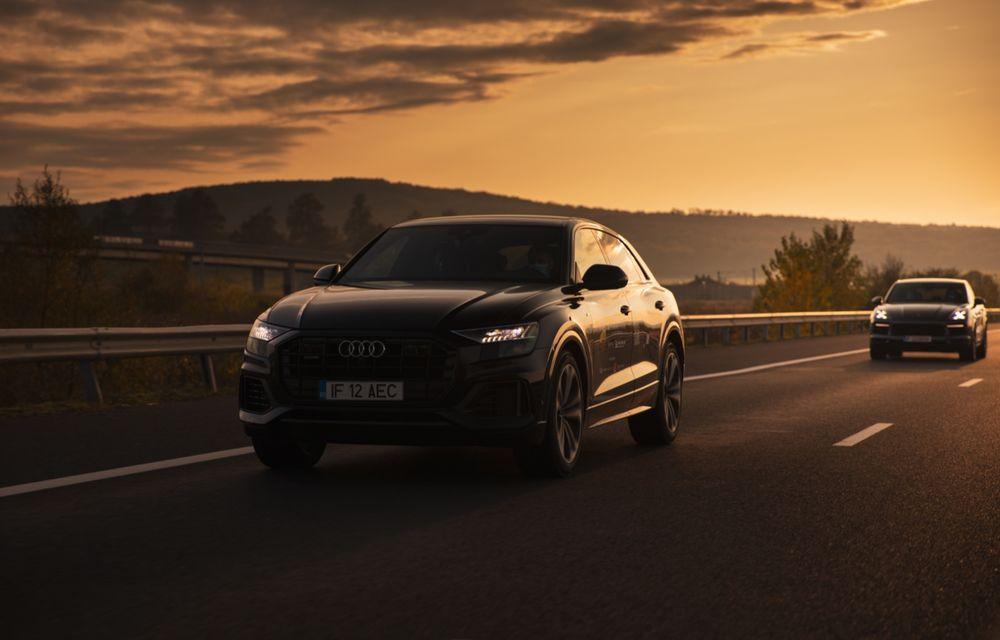 """PORTRET: Audi Q8 55 TFSI după 2000 de kilometri: """"Totul e corect, la dungă, fără excese, fără explozii, fără imprevizibil"""" - Poza 19"""