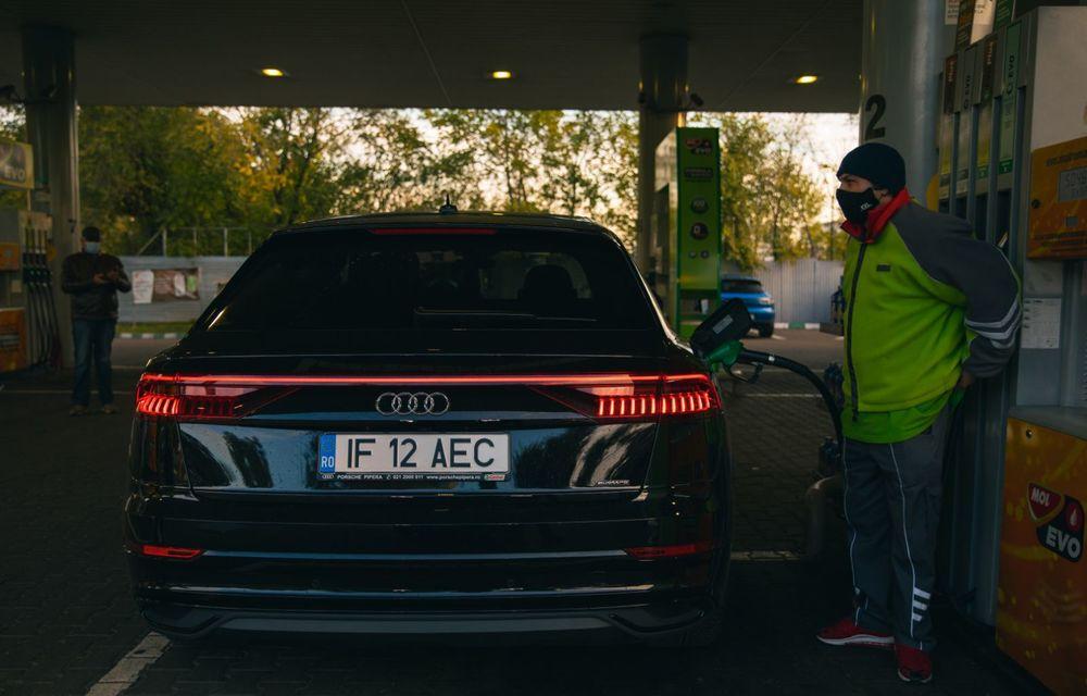 """PORTRET: Audi Q8 55 TFSI după 2000 de kilometri: """"Totul e corect, la dungă, fără excese, fără explozii, fără imprevizibil"""" - Poza 43"""