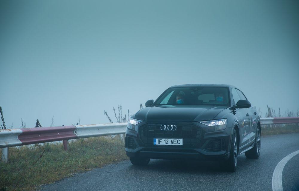 """PORTRET: Audi Q8 55 TFSI după 2000 de kilometri: """"Totul e corect, la dungă, fără excese, fără explozii, fără imprevizibil"""" - Poza 9"""