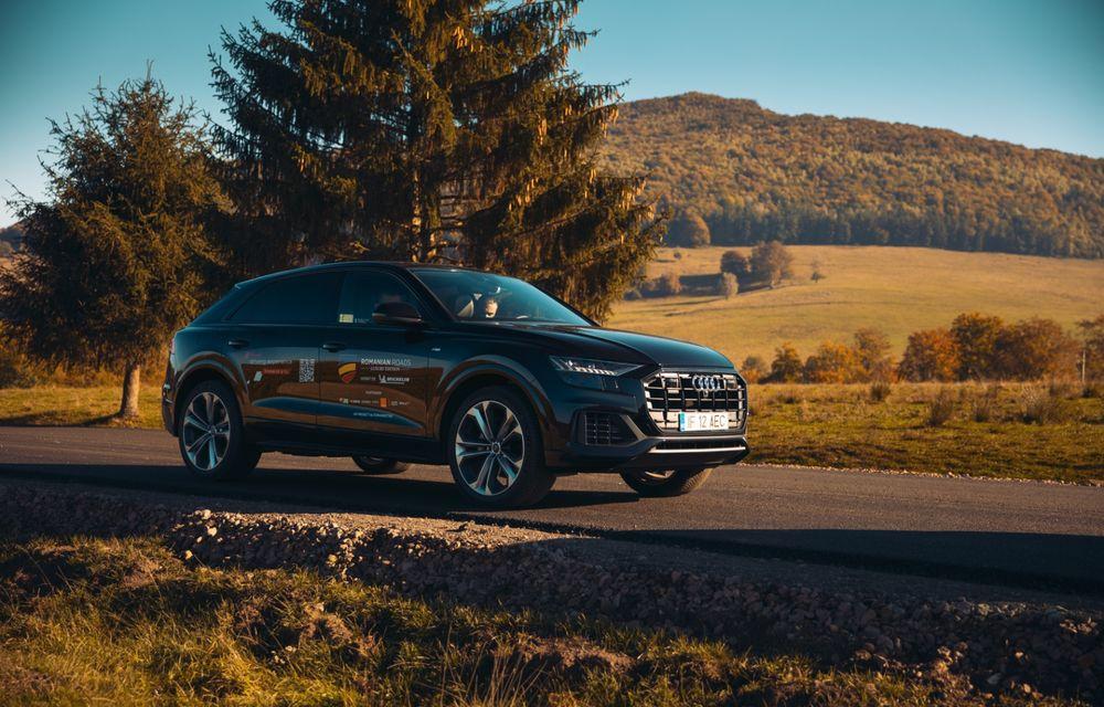 """PORTRET: Audi Q8 55 TFSI după 2000 de kilometri: """"Totul e corect, la dungă, fără excese, fără explozii, fără imprevizibil"""" - Poza 35"""