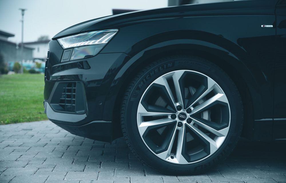 """PORTRET: Audi Q8 55 TFSI după 2000 de kilometri: """"Totul e corect, la dungă, fără excese, fără explozii, fără imprevizibil"""" - Poza 45"""