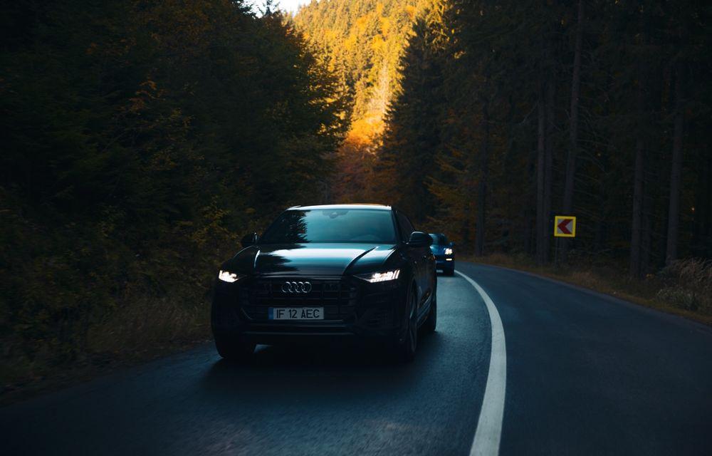 """PORTRET: Audi Q8 55 TFSI după 2000 de kilometri: """"Totul e corect, la dungă, fără excese, fără explozii, fără imprevizibil"""" - Poza 34"""
