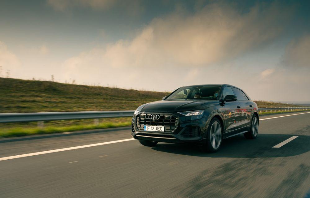"""PORTRET: Audi Q8 55 TFSI după 2000 de kilometri: """"Totul e corect, la dungă, fără excese, fără explozii, fără imprevizibil"""" - Poza 20"""