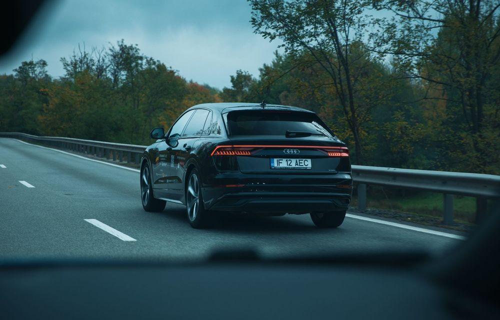 """PORTRET: Audi Q8 55 TFSI după 2000 de kilometri: """"Totul e corect, la dungă, fără excese, fără explozii, fără imprevizibil"""" - Poza 5"""