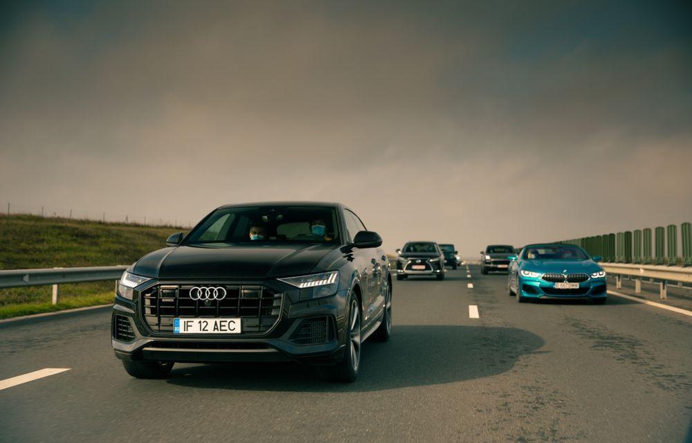 """PORTRET: Audi Q8 55 TFSI după 2000 de kilometri: """"Totul e corect, la dungă, fără excese, fără explozii, fără imprevizibil"""" - Poza 21"""