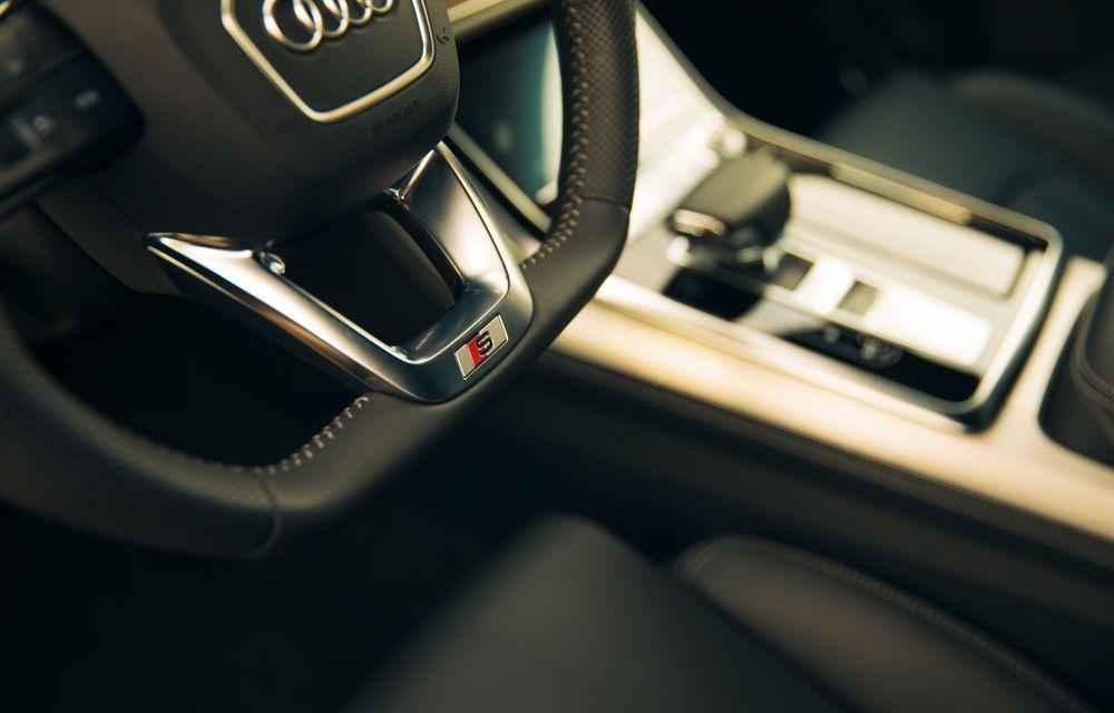 """PORTRET: Audi Q8 55 TFSI după 2000 de kilometri: """"Totul e corect, la dungă, fără excese, fără explozii, fără imprevizibil"""" - Poza 48"""
