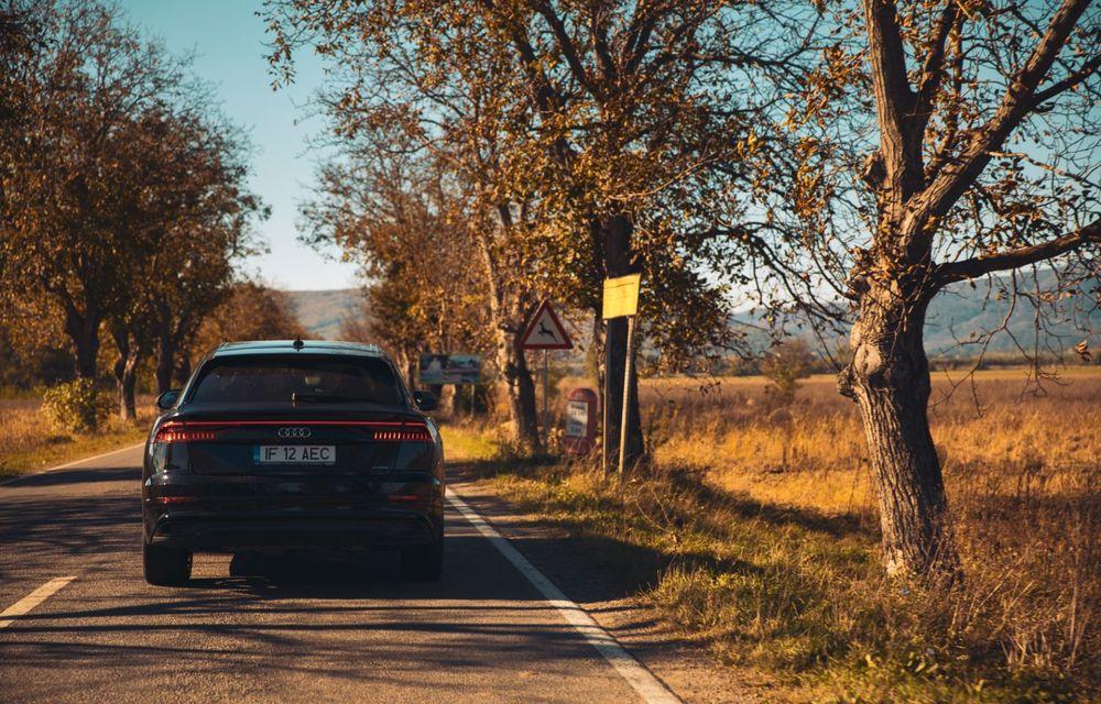 """PORTRET: Audi Q8 55 TFSI după 2000 de kilometri: """"Totul e corect, la dungă, fără excese, fără explozii, fără imprevizibil"""" - Poza 38"""