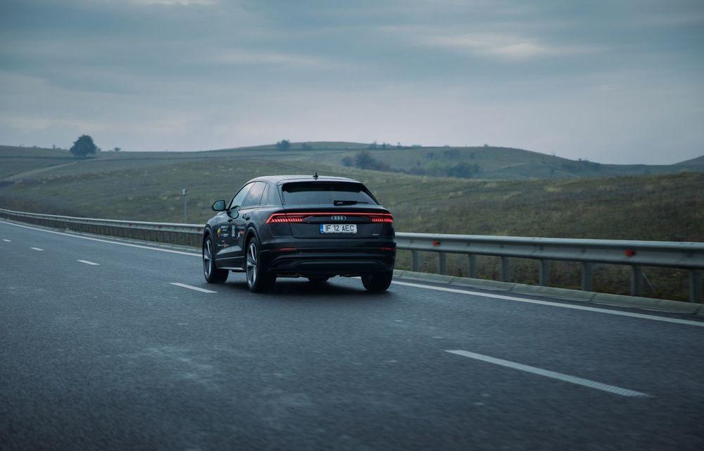 """PORTRET: Audi Q8 55 TFSI după 2000 de kilometri: """"Totul e corect, la dungă, fără excese, fără explozii, fără imprevizibil"""" - Poza 22"""