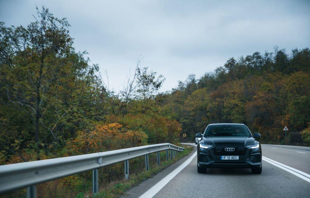 """PORTRET: Audi Q8 55 TFSI după 2000 de kilometri: """"Totul e corect, la dungă, fără excese, fără explozii, fără imprevizibil"""" - Poza 3"""
