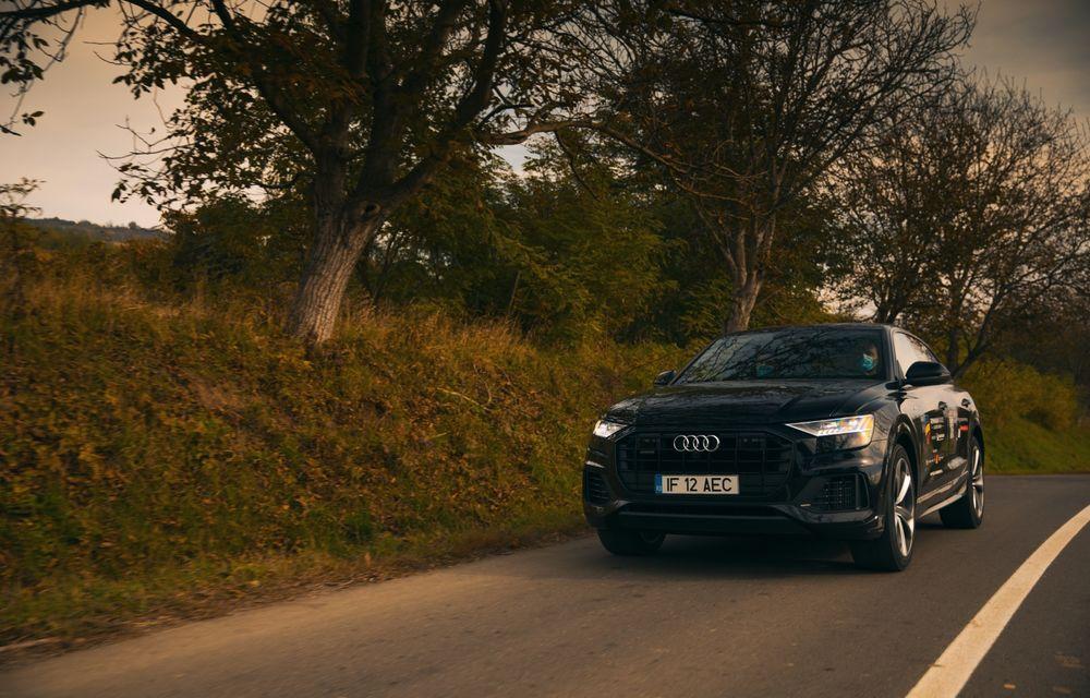 """PORTRET: Audi Q8 55 TFSI după 2000 de kilometri: """"Totul e corect, la dungă, fără excese, fără explozii, fără imprevizibil"""" - Poza 29"""