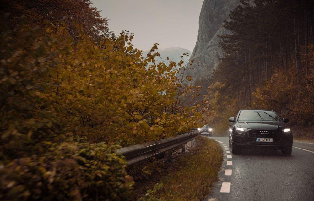 """PORTRET: Audi Q8 55 TFSI după 2000 de kilometri: """"Totul e corect, la dungă, fără excese, fără explozii, fără imprevizibil"""" - Poza 24"""