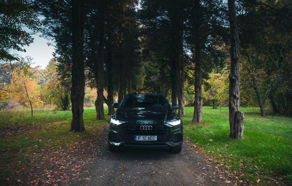 """PORTRET: Audi Q8 55 TFSI după 2000 de kilometri: """"Totul e corect, la dungă, fără excese, fără explozii, fără imprevizibil"""" - Poza 2"""