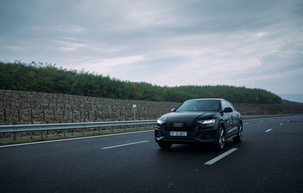 """PORTRET: Audi Q8 55 TFSI după 2000 de kilometri: """"Totul e corect, la dungă, fără excese, fără explozii, fără imprevizibil"""" - Poza 23"""