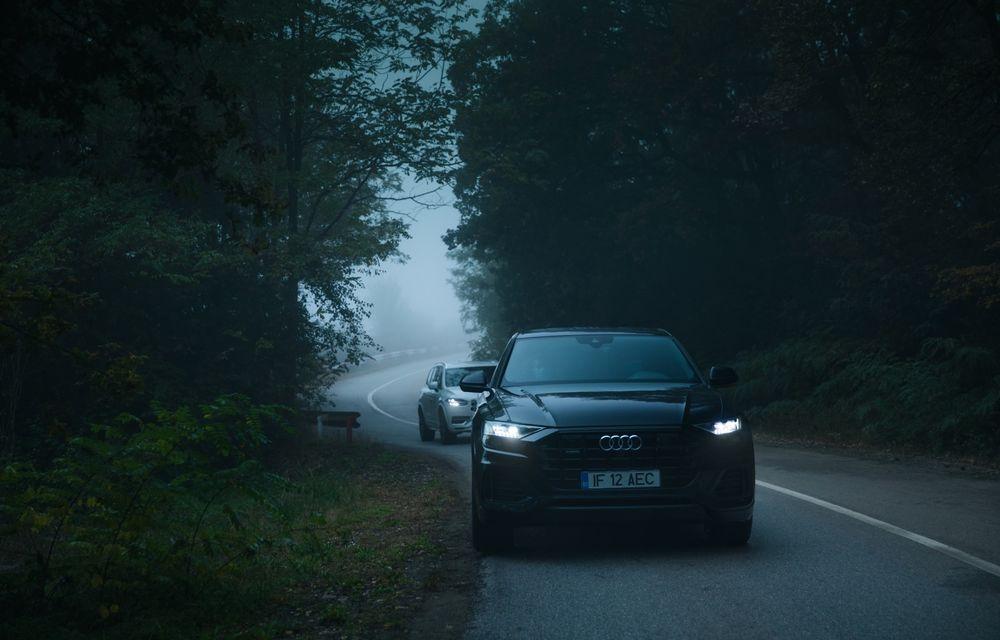 """PORTRET: Audi Q8 55 TFSI după 2000 de kilometri: """"Totul e corect, la dungă, fără excese, fără explozii, fără imprevizibil"""" - Poza 10"""