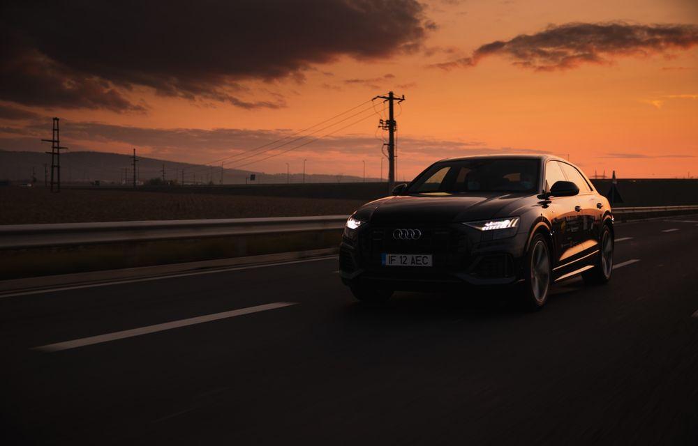 """PORTRET: Audi Q8 55 TFSI după 2000 de kilometri: """"Totul e corect, la dungă, fără excese, fără explozii, fără imprevizibil"""" - Poza 17"""