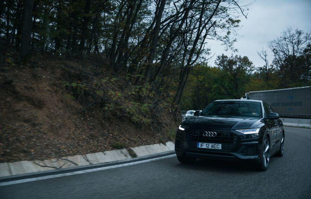 """PORTRET: Audi Q8 55 TFSI după 2000 de kilometri: """"Totul e corect, la dungă, fără excese, fără explozii, fără imprevizibil"""" - Poza 4"""