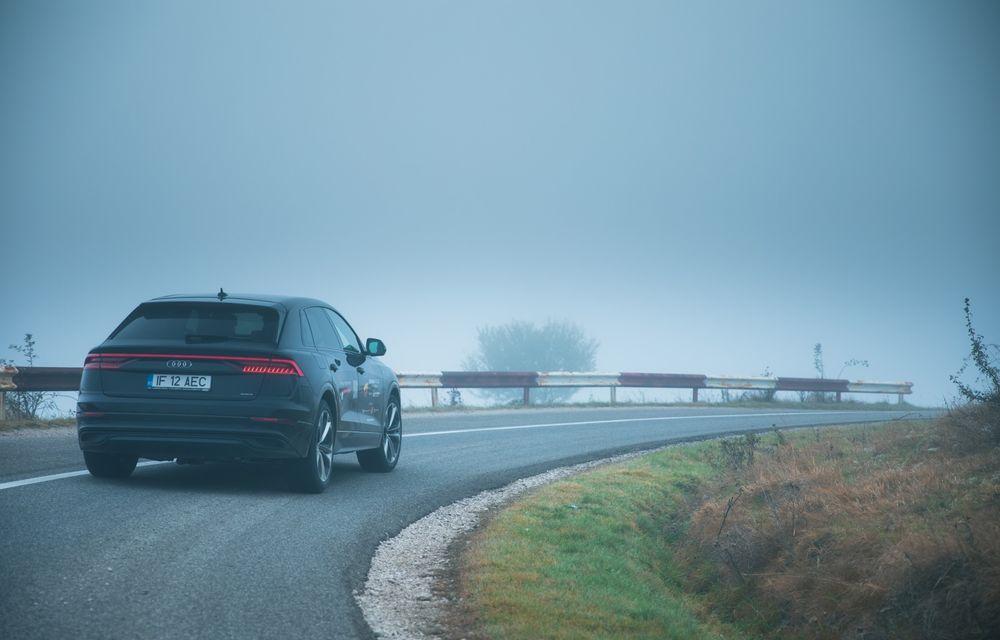 """PORTRET: Audi Q8 55 TFSI după 2000 de kilometri: """"Totul e corect, la dungă, fără excese, fără explozii, fără imprevizibil"""" - Poza 8"""
