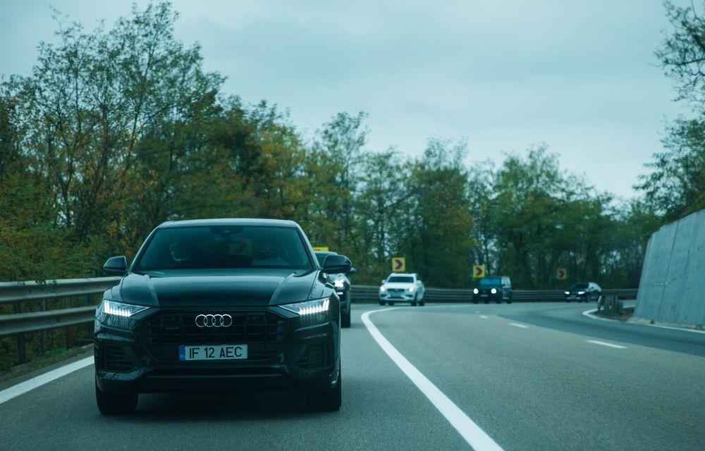 """PORTRET: Audi Q8 55 TFSI după 2000 de kilometri: """"Totul e corect, la dungă, fără excese, fără explozii, fără imprevizibil"""" - Poza 6"""