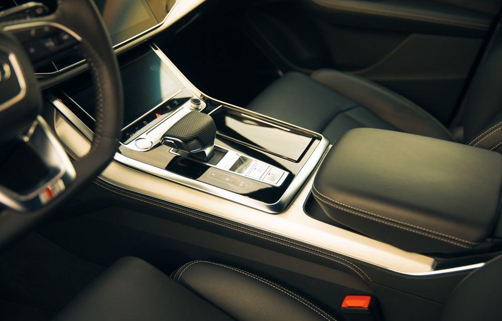 """PORTRET: Audi Q8 55 TFSI după 2000 de kilometri: """"Totul e corect, la dungă, fără excese, fără explozii, fără imprevizibil"""" - Poza 47"""
