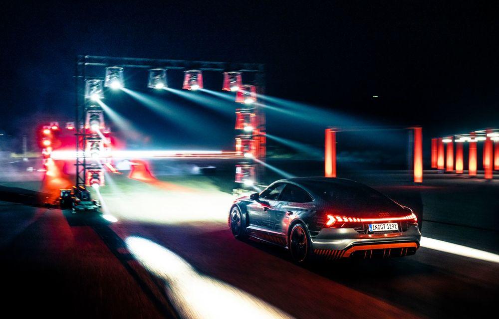 Imagini și informații noi referitoare la viitorul Audi RS e-tron GT: două motoare electrice cu până la 655 CP și autonomie estimată de 400 de kilometri - Poza 60