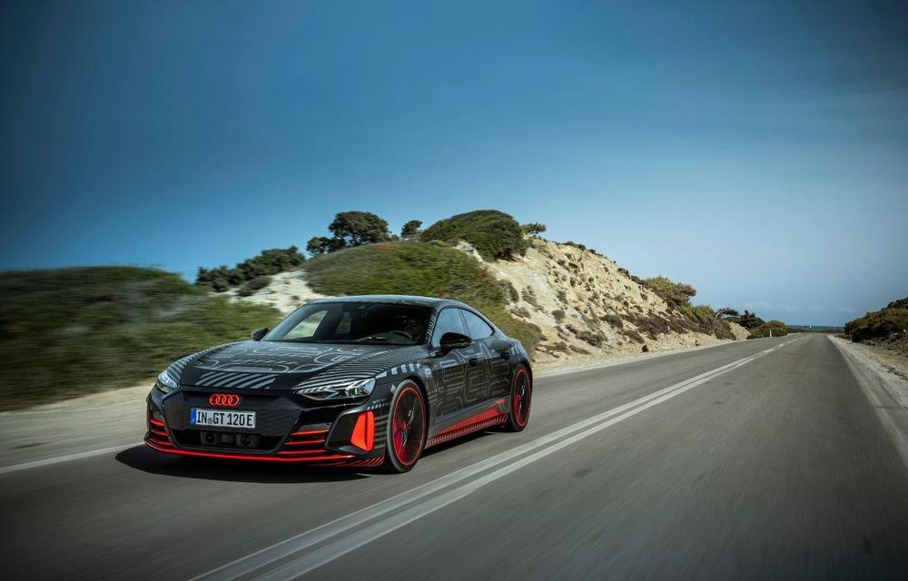 Imagini și informații noi referitoare la viitorul Audi RS e-tron GT: două motoare electrice cu până la 655 CP și autonomie estimată de 400 de kilometri - Poza 25