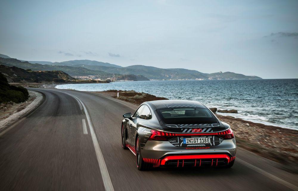 Imagini și informații noi referitoare la viitorul Audi RS e-tron GT: două motoare electrice cu până la 655 CP și autonomie estimată de 400 de kilometri - Poza 38