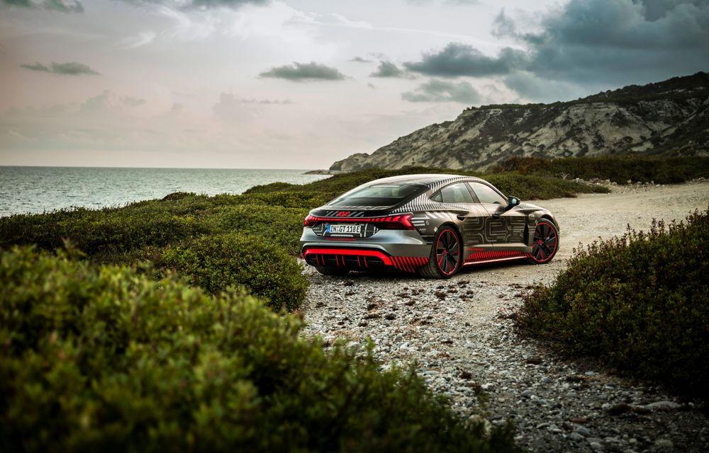 Imagini și informații noi referitoare la viitorul Audi RS e-tron GT: două motoare electrice cu până la 655 CP și autonomie estimată de 400 de kilometri - Poza 34