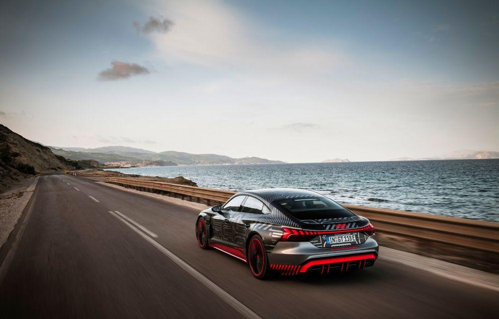 Imagini și informații noi referitoare la viitorul Audi RS e-tron GT: două motoare electrice cu până la 655 CP și autonomie estimată de 400 de kilometri - Poza 37