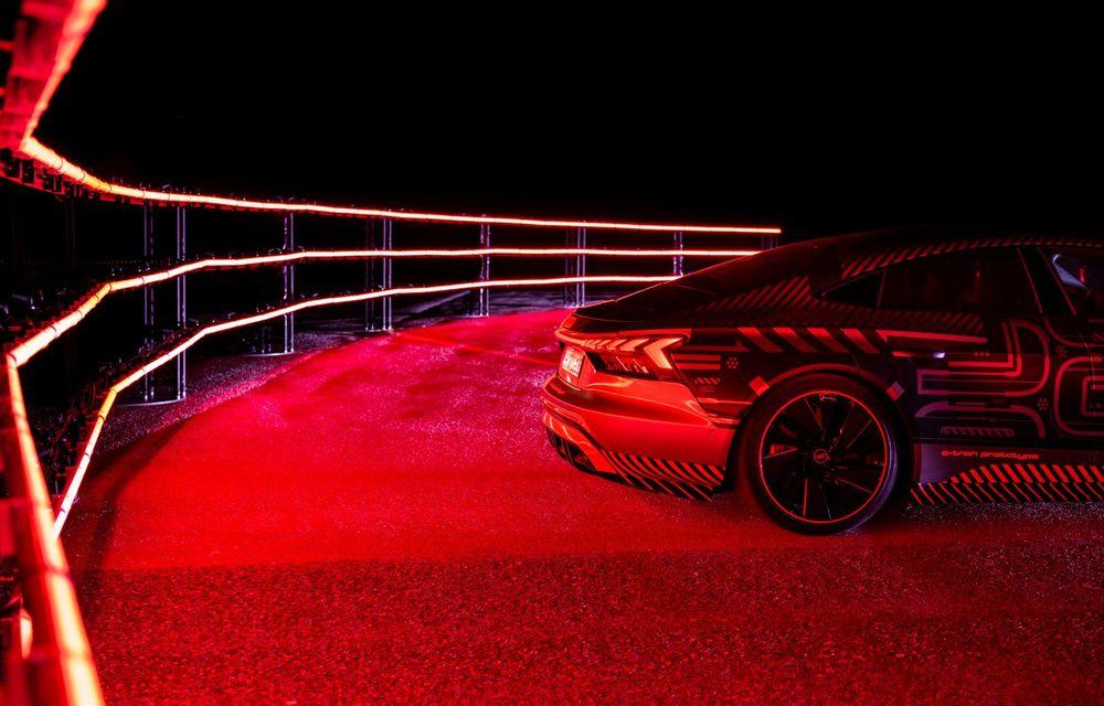 Imagini și informații noi referitoare la viitorul Audi RS e-tron GT: două motoare electrice cu până la 655 CP și autonomie estimată de 400 de kilometri - Poza 49