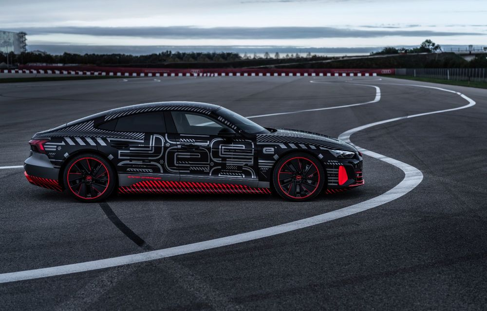 Imagini și informații noi referitoare la viitorul Audi RS e-tron GT: două motoare electrice cu până la 655 CP și autonomie estimată de 400 de kilometri - Poza 3