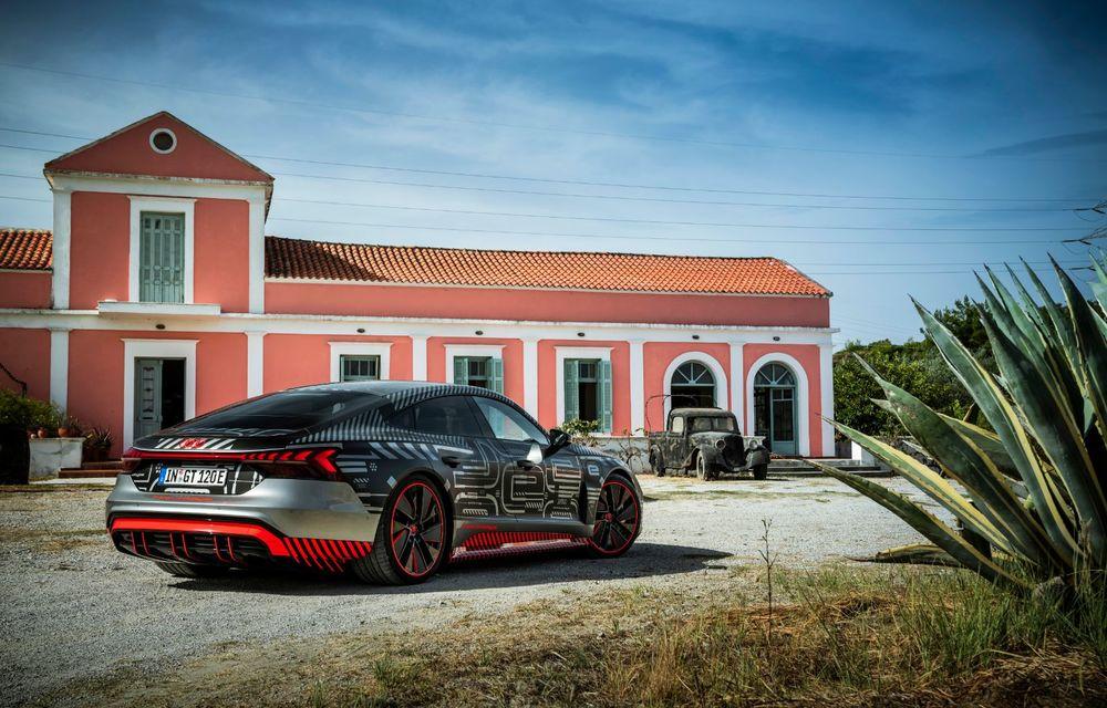 Imagini și informații noi referitoare la viitorul Audi RS e-tron GT: două motoare electrice cu până la 655 CP și autonomie estimată de 400 de kilometri - Poza 22