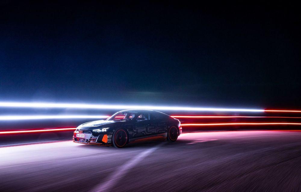 Imagini și informații noi referitoare la viitorul Audi RS e-tron GT: două motoare electrice cu până la 655 CP și autonomie estimată de 400 de kilometri - Poza 50