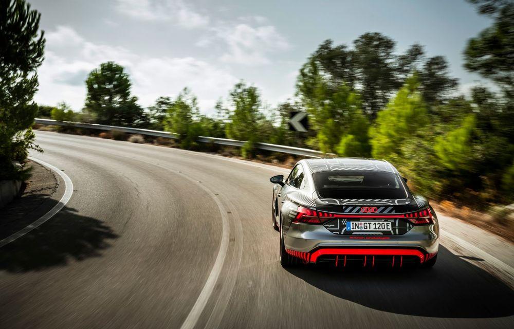 Imagini și informații noi referitoare la viitorul Audi RS e-tron GT: două motoare electrice cu până la 655 CP și autonomie estimată de 400 de kilometri - Poza 19